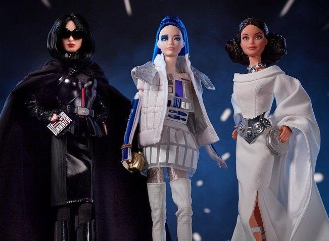 Вышла вдохновленная «Звездными войнами» серия кукол Барби