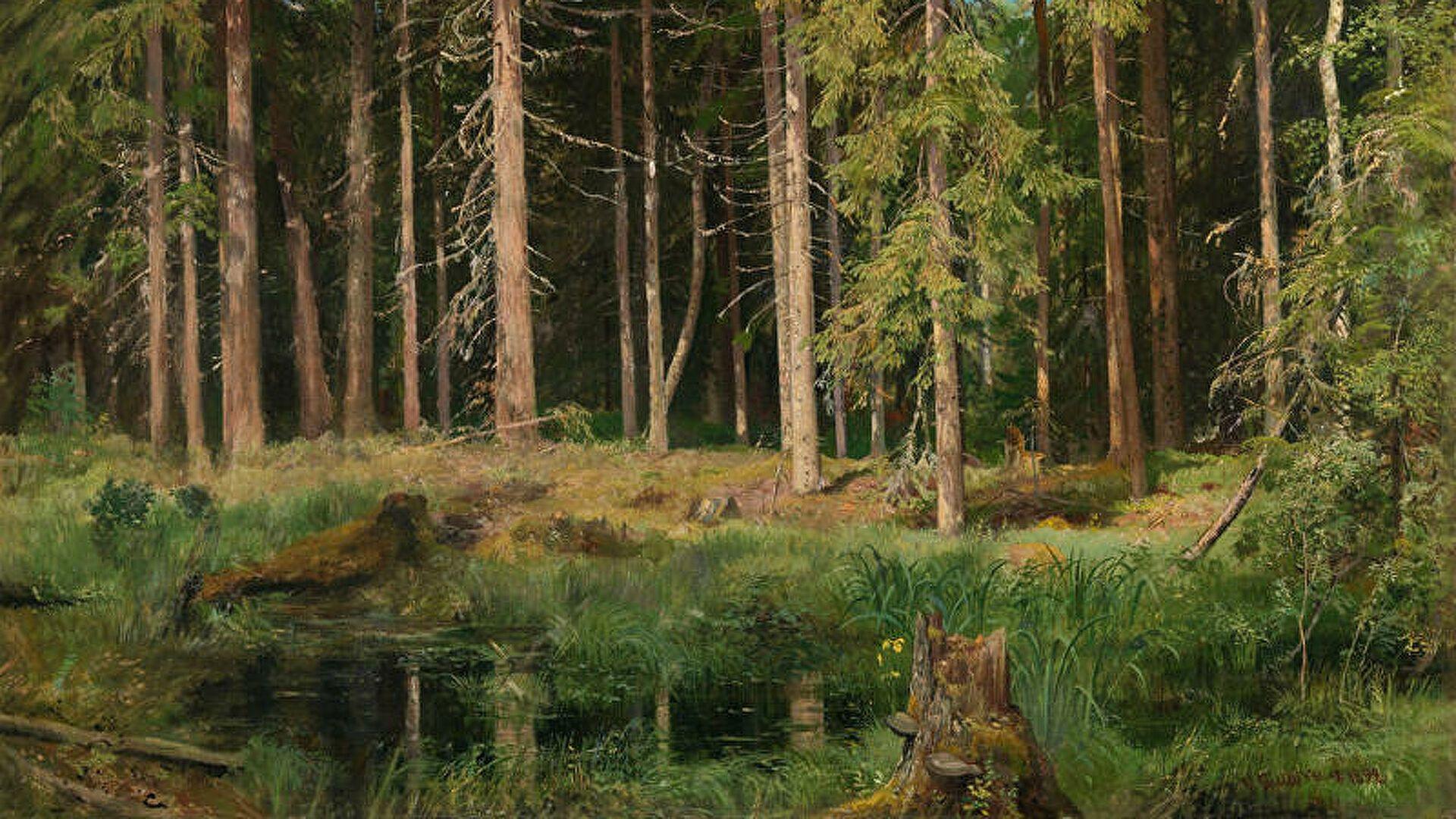 Картина Шишкина ушла с молотка за более 500 тысяч фунтов