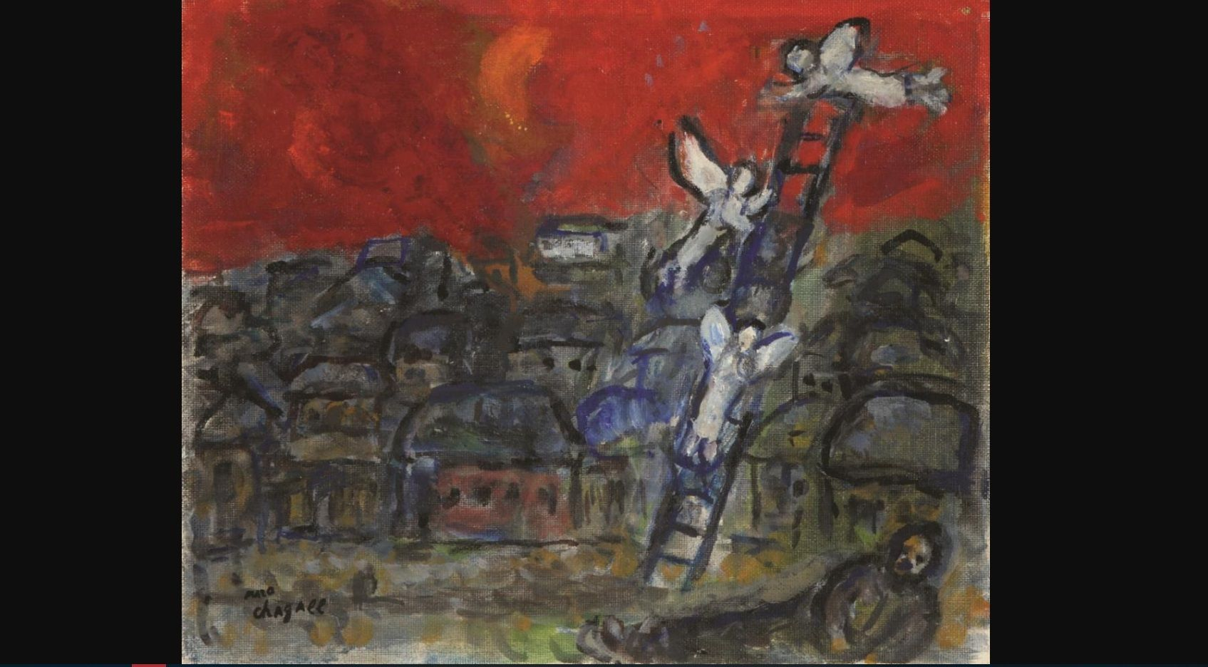 СМИ: в Израиле продадут на торгах украденную в 1996 году и найденную в 2015 картину Шагала