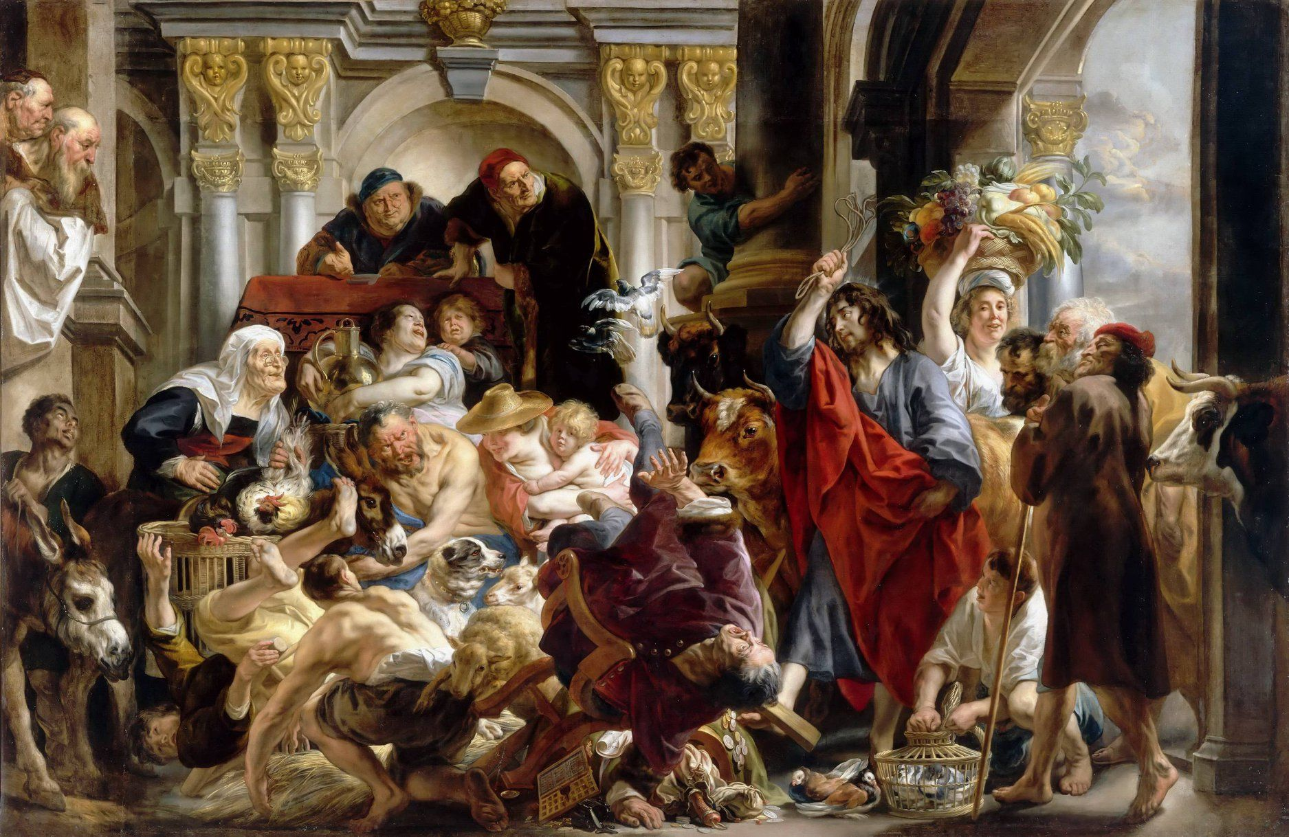 В Пушкинском музее покажут картины фламандского художника Якоба Йорданса