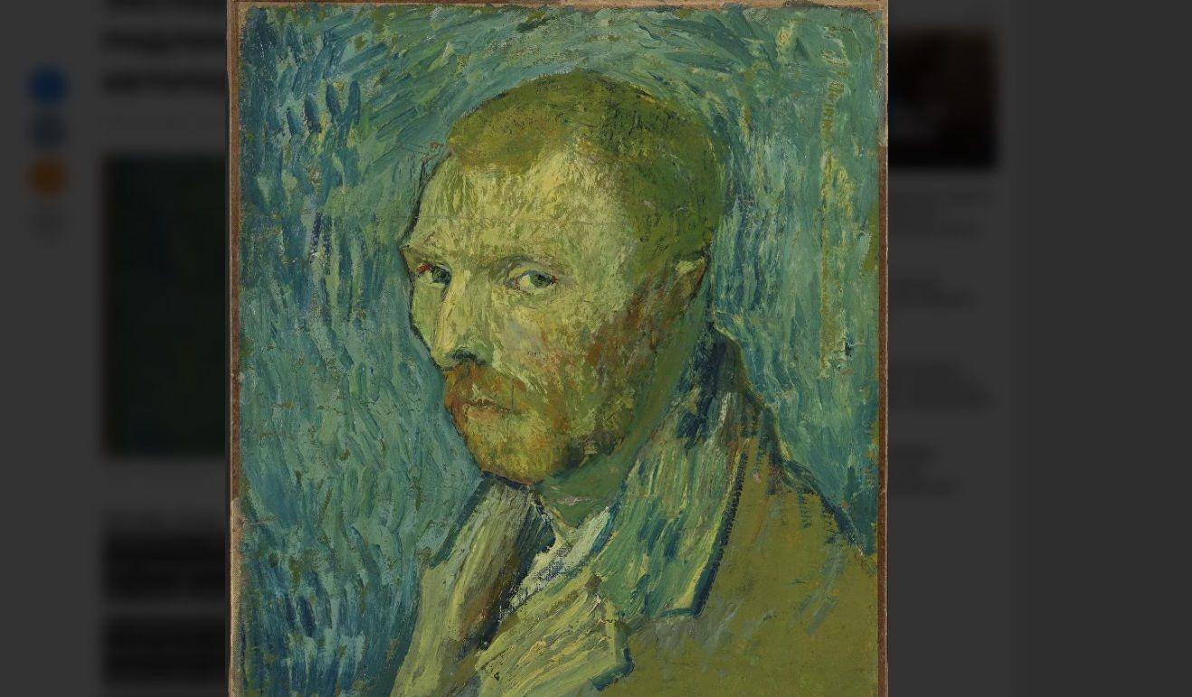 «Странный портрет» Ван Гога оказался подлинником