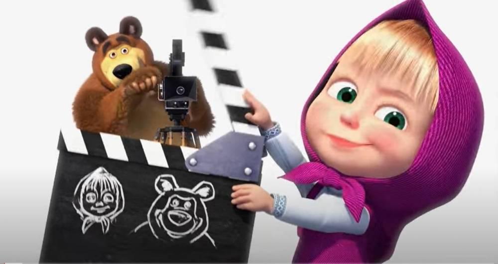 «Маша и Медведь» станет полнометражным мультфильмом