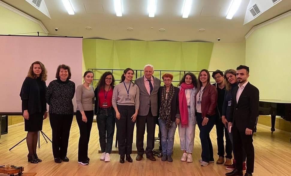 Музыкальные педагоги изСирии повысят квалификацию вМоскве