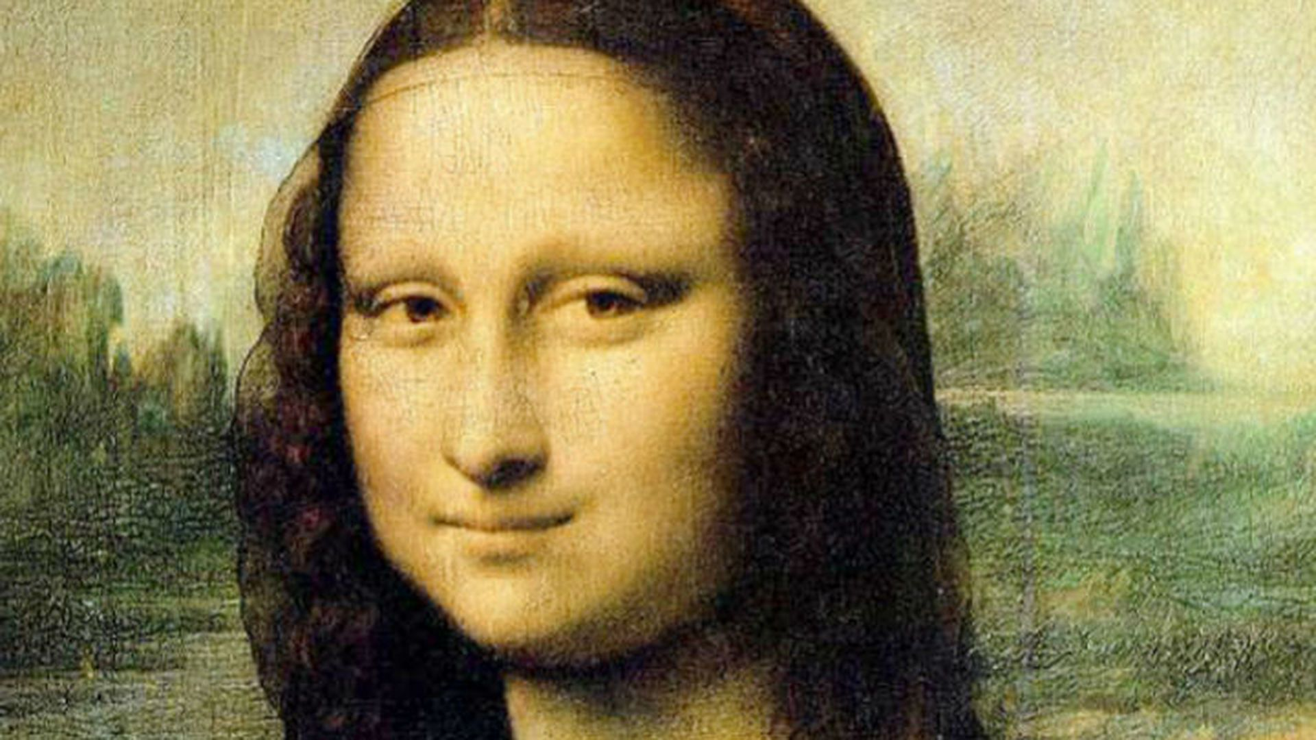 Картина Леонардо даВинчи «Мона Лиза» треснула