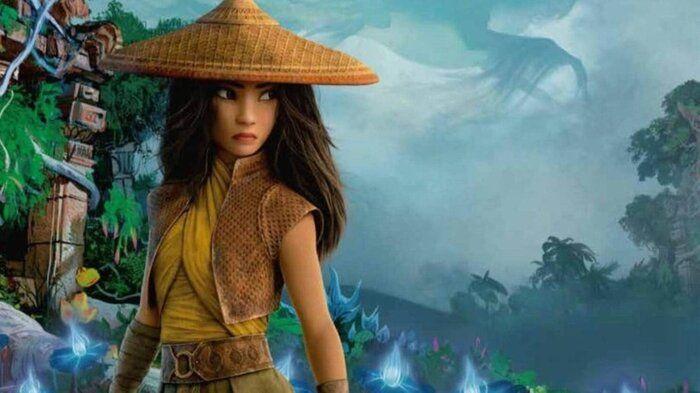 Вышел новый трейлер мультфильма «Райя и последний дракон»