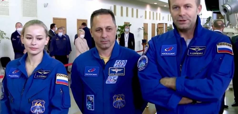 Высоту орбиты МКС увеличили на 750 метров для съемок фильма «Вызов»