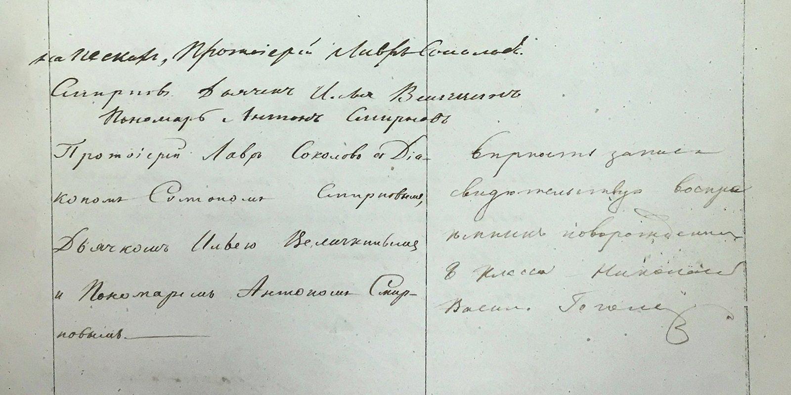 ВГлаврахиве нашли ранее неизвестный автограф Гоголя