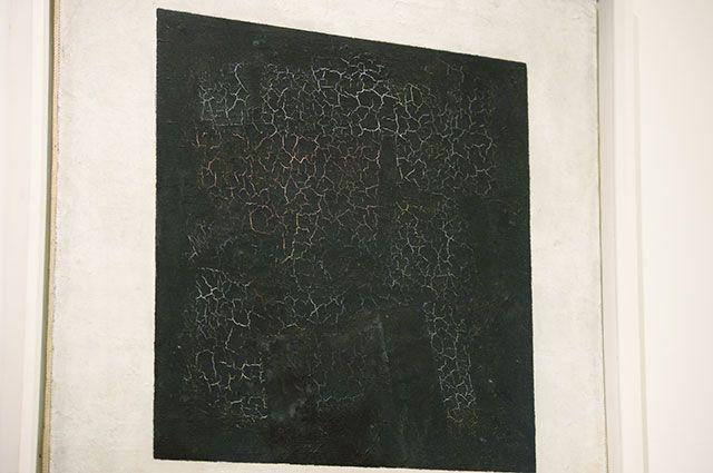 ВТретьяковской галерее представлены два «Черных квадрата» Малевича