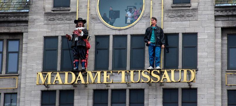 Фигуры изМузея мадам Тюссо выставили навсеобщее обозрение