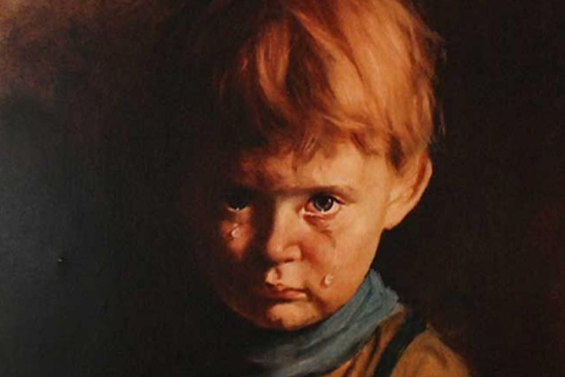 Мистическая история «Плачущего мальчика» Бруно Амадио