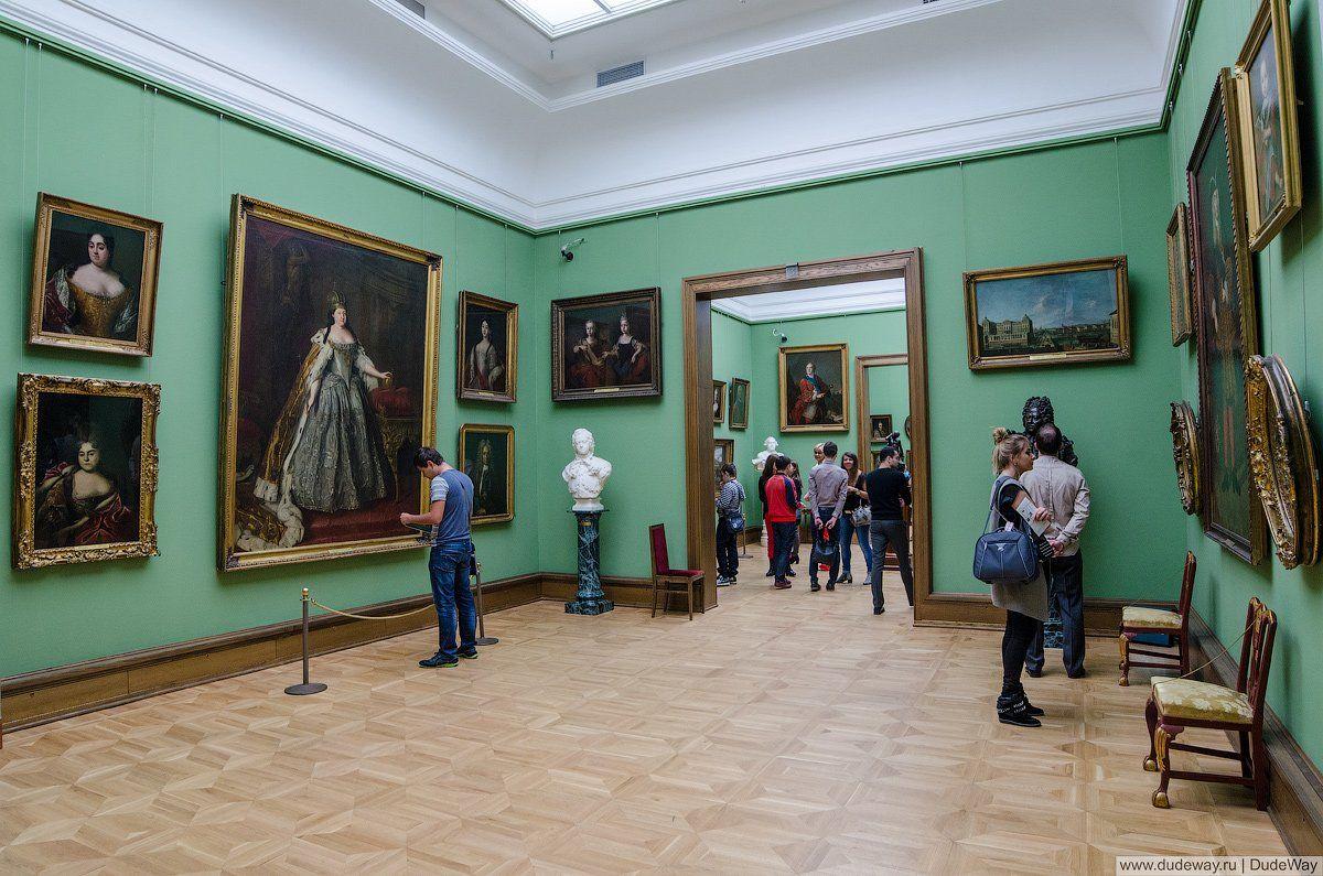 Третьяковская галерея после открытия будет пускать посетителей по сеансам