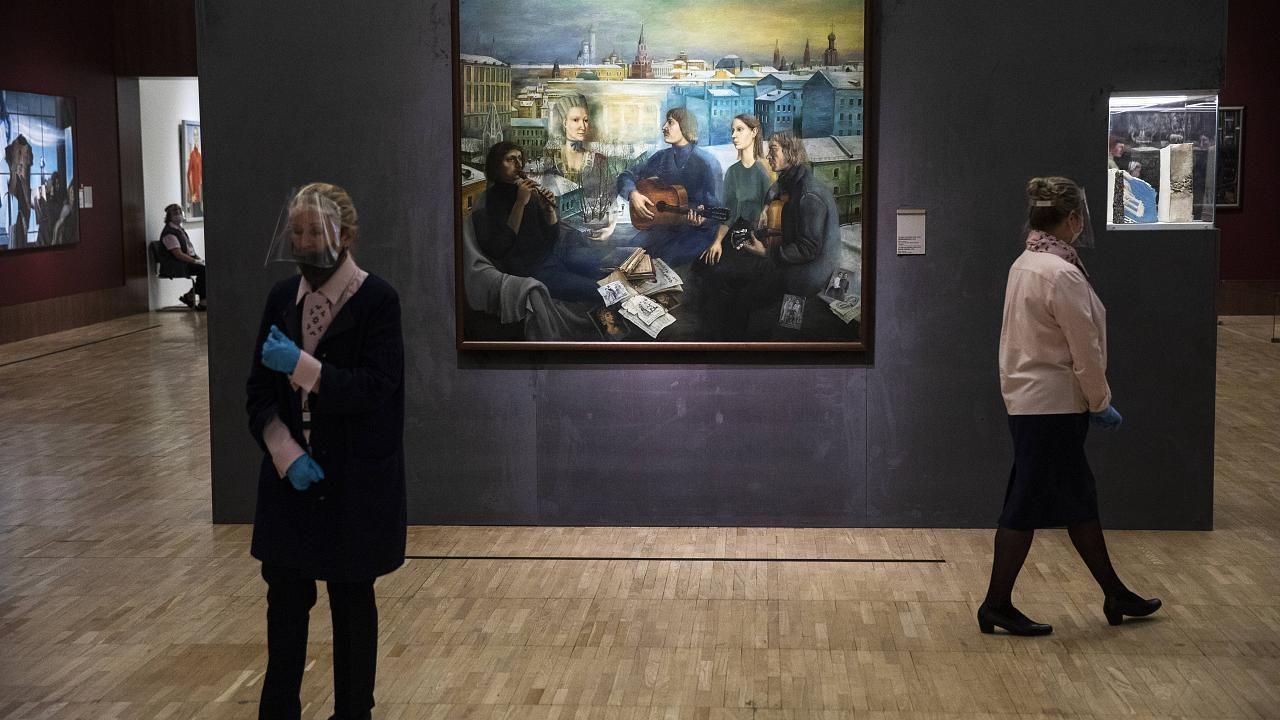 В Третьяковке вновь заработают закрытые из-за потопа выставки