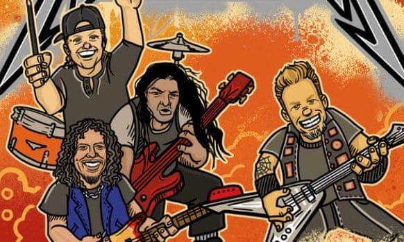Metallica выпустит детскую книгу «Азбука Металлики»