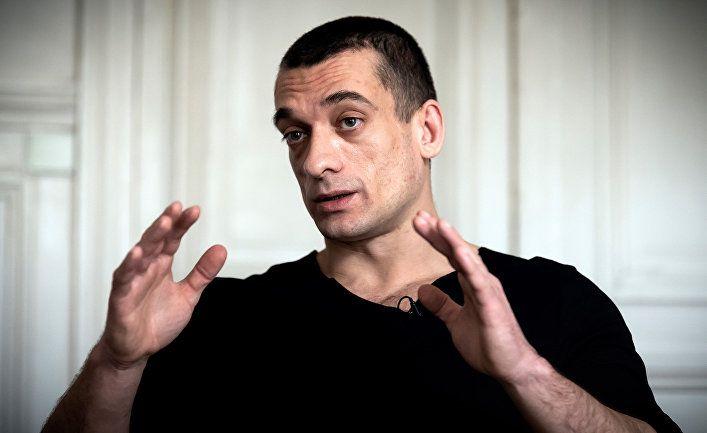 Художник Павленский задержан во Франции