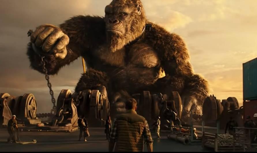 Картина «Годзилла против Конга» вторые выходные возглавляет российский кинопрокат