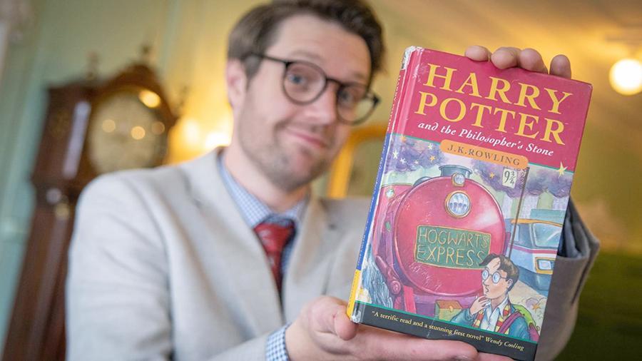 Книгу про Гарри Поттера из первого тиража продали за $40 тысяч