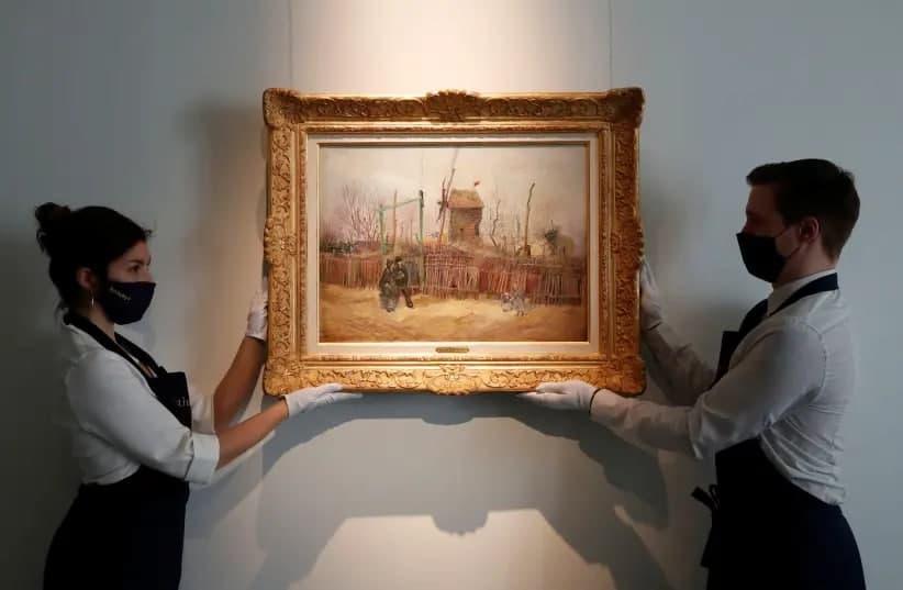 Картину Ван Гога покажут публике впервые с ее создания